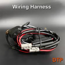 led wiring loom harness kit relay driving light bar plug quick fit image is loading led wiring loom harness kit relay driving light