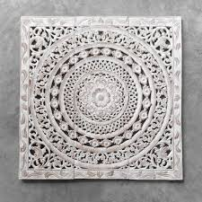 carved wooden wall art australia