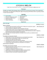 Executive Administrative Assistant Resume Sample Monster Resume