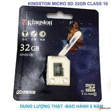 chỉ còn 1,312,500đ Combo 25 Thẻ Nhớ Micro SDHC Kingston 16GB Class 10 (SPC/ FPT phân phối)