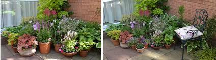 Shady Businessa Container Garden For A Dark Corner  The City PlanterContainer Garden Ideas Uk