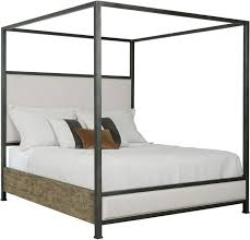 Plank Road Stone Shelley Cal. King Canopy Bed