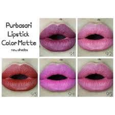 95 purbasari lipstik color matte