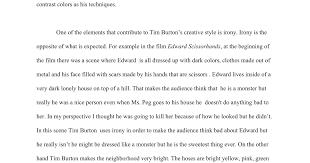 tim burton essay by karla lopez google docs