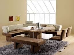 Pleasurable Design Ideas Dining Room Table With Corner Bench