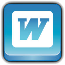 microsoft word icon microsoft word icon rounded square icons softicons com