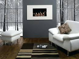 grey wall decor ideas modern gray living room feature