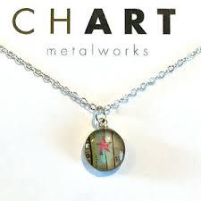 Details About Chart Jewelry Nautical Starfish Chart Petite Necklace 17 50