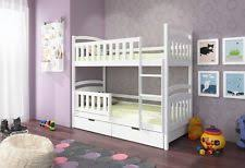 bunk beds with storage. Simple Bunk Emily WHITEPINEBLUE WOODEN Bunk Bed With Mattresses U0026 Storage NEW Free Pu0026P Throughout Beds With