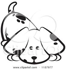 cute dog clipart black and white. Simple And Cute20dog20clipart20black20and20white And Cute Dog Clipart Black White