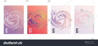 Cool Cover Designs Modern Abstract Covers Set Cool Gradient Stock Vector
