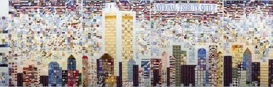 Why Quilts Matter: History, Art & Politics - American Folk Art ... & Steel Quilters 9/11 National Tribute Quilt, 2002, 8' x 30' Adamdwight.com