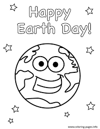 Therapists have touted the calming benefits of coloring for over … color the world read more ». Happy Earth Day Smile Earth World Coloring Pages Printable