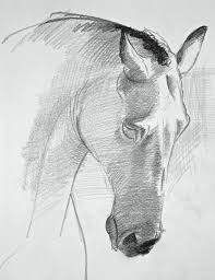 horses drawings. Plain Horses How To Draw A Horse Demo By David Sanmiguel For Horses Drawings S