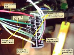 2004 2007 ford star remote start w keyless pictorial this is a picture of the brake wire at the brake pedal switch