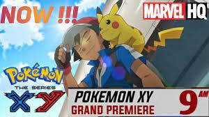 Pokemon XY big News! | Pokemon XY Starting on Marvel HQ | Season 17 😄😄 -  YouTube