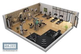 ... Fancy Plush Design House Gym Layout 3 Top Gym Decor ...