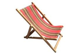 wooden deck chairs red deckchairs folding triathlon stripes south africa