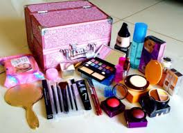 lotus exclusive professional mega wedding beauty makeup kit bo large vanity box in india pare s