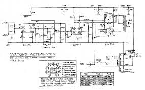 watkins westminster 10w schematic return to wem amplifier schematics page