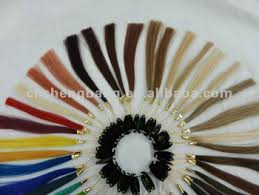 Human Hair Color Chart Color Sample Rings With 32 Colors Buy Human Hair Color Sample Hair Weave Color Chart Hair Highlight Color Ring Product On