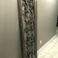 tree wall art round wall decor metal distressed w wood