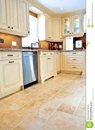 Floor Tile Kitchen Tile Floor In Modern Kitchen Royalty Free Stock Image Image 7250536