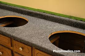 countertop transformations chips applied plumdoodles com