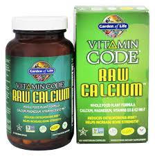 garden of life vitamin code raw calcium 120 vegetarian capsules at luckyvitamin com