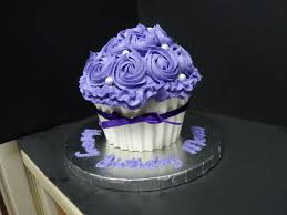 Giant Cupcake Birthday Cake Cakecentralcom