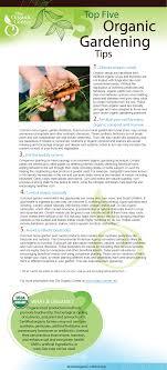 The Organic Center | 5 Organic Gardening Tips