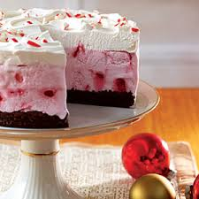 Frozen Peppermint Chocolate Cake