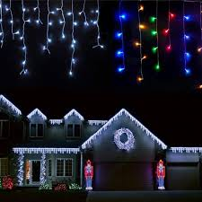 Blue Led Icicle Christmas Lights Images Of White Icicle Christmas Lights Home Design Ideas