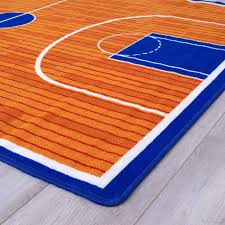 allstar kids baby room area rug basketball court for basketball player kids room 7 3 x 10 2 com