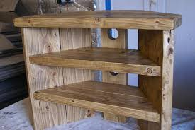 Rustic Corner Tv Stand solid wood unit cabinet plank sleeper oiled waxed in  Home, Furniture & DIY, Furniture, TV & Entertainment Stands