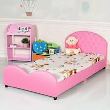 girls upholstered bed. Unique Bed Image Is Loading PinkGirlsPrincessUpholsteredBed FramePlatformHeadboard And Girls Upholstered Bed T