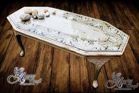 wooden hand carved coffee table refurbished