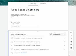 Create A Seat Booking Form With Google Forms Google Sheets