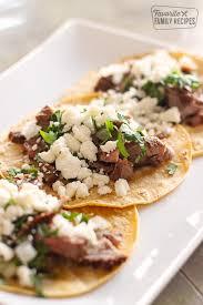grilled steak street tacos