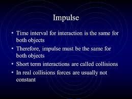 5 impulse must have average
