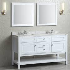 54 inch bathroom vanity double sink. ariel by seacliff mayfield 60\ 54 inch bathroom vanity double sink