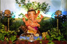 eco friendly ganpati decoration ideas for home flower ideas for