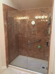 custom glass shower doors las vegas new glass door shower doors fiberglass shower pan frameless