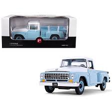 International C1100 Pickup Truck Seascape Blue with White Top 1/25 ...
