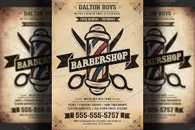 Vintage Barber Shop Flyer Template ~ Flyer Templates ~ Creative Market