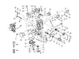 Mikuni carb parts diagram design
