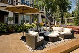 outdoor living room sets. beautiful outdoor living space. a room sets