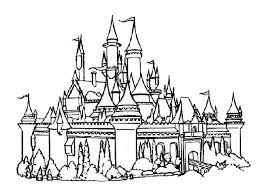 Small Picture Disney World Coloring Pages Frozen Castle nebulosabarcom