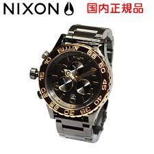 time club rakuten global market nixon nixon watch watch 42 20 nixon nixon watch watch 42 20 chrono a0371228 a037 1228 gun n