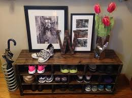 diy pallet shoe rack. Pallet Shoes Rack Diy Shoe